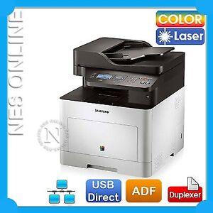 SAMSUNG CLX-6260ND 3-in1 Color Laser Network Printer w/o 506 Start Toner SC*RFB*