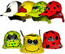 Children's Animal Summer Sun Legionnaire & Bush Hat Boys & Girls Kids Cotton Cap