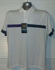New NWT Page & Tuttle Cool Swing dri fit  polo  shirt Mens XL xLarge
