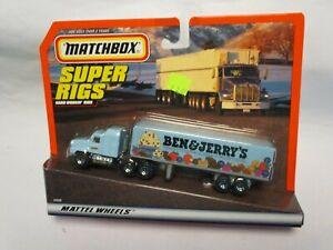 "Matchbox Convoy CY-29 Mack Box Truck- ""Ben & Jerry's Ice Cream"", carded"