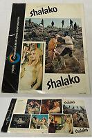 1968 distributors movie promo ~ SHALAKO ~ Sean Connery, Brigitte Bardot