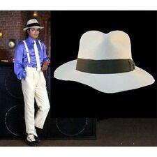 Michael Jackson weiß Smooth Criminal Hut / Mütze aus 100% Wolle für MJ Fans 149