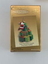 The Opening Game Santa Club Exclusive Hallmark Ornament 2005 Christmas Tree KOCC