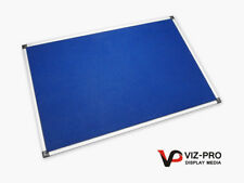 Viz Pro Felt Board Pin Noticeboard 2400mmx1200mm. Fast Delivery! High Quality!