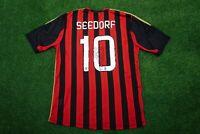 Clarence Seedorf Signed AC Milan Shirt Genuine Signature AFTAL COA