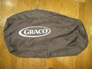 Graco Pack n Play Replacement Storage Cover Carry Bag w/ Zipper Brown