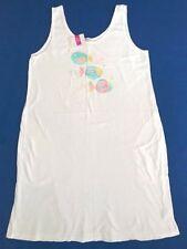 Fresh Produce Large White Colorful Fish Sunshade Tank Beach Dress Nwt New L