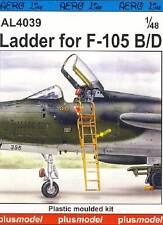 Plus Modèle - échelle pour f-105B/D Conduite pour modèle-kit - 1:48 astuce