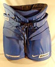 Bauer Nike Supreme Blue Hockey Pants - One 75 Dri Fit Pants, Size GHP Medium M