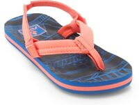 Reef Kids Grom Roundhouse Ankle Wrap Bungee Flip Flops Euro 23//24 US 7//8