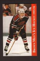 1993-94 Brown Bears Hockey Schedule--Sophisticated Traveler