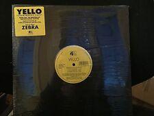 "YELLO TREMENDOUS PAIN12"" 1995 4TH & BROADWAY 162-440 608-1 SEALED HYPE STICKER"