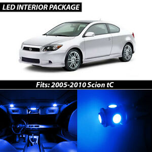 2005-2010 Scion tC Blue Interior LED Lights Package Kit