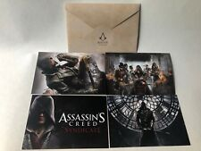 Assassins Creed Syndicate Set of Official Promo Postcards Ubisoft XBOX ONE PS4