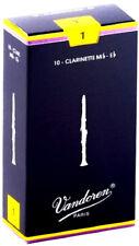 + ancia per clarinetto mib eb n:1 vandoren confezionate singolarmente ancie