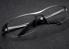 Aluminum magnesium Glasses Frames Women Men Eyeglasses Optical RX Gunmetal