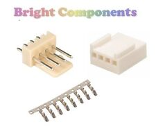 "5x 4-Way 2.54mm/0.1"" Kit Connettore PCB (Molex KK Stile) - 1st Class Post"