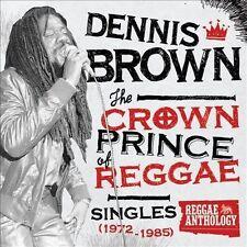 NEW Crown Prince Of Reggae Singles (1972-1985) [2 CD/1 DVD Combo] (Audio CD)
