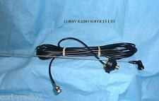 TAXI BOOT LID GUTTER MOUNT ANTENNA BNC COMPLETE 162 - 174 MHZ 5 MTS  CABLE