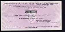 EMPRUNTS SERBES royaume de YOUGOSLAVIE 50 Francs OR beograd 1936 emprunt or cer.