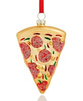 Holiday Lane Pizza Ornament