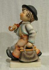 "Hummel Figurine 10"" Merry Wanderer  # 7/II TMK 3"