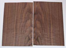 2 Blatt amerikanisches Nussbaum Furnier  placage Noyer américain ebeniste