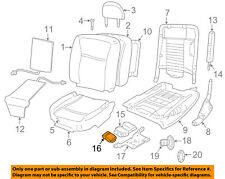 FORD OEM Heated Seat-Control Module 5W1Z14C724AA