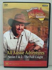 RUSSELL COIGHT'S ALL AUSSIE ADVENTURES~ SERIES 1 & 2 THE FULL COIGHT~AS  NEW DVD
