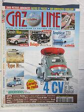 GAZOLINE N° 147 /guide d'achat  VISA/DELAGE D6.11 N/ 4 CV /TYPE H / AMPHICAR 770