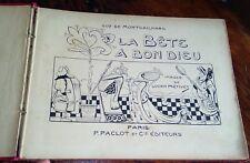 LA BETE A BON DIEU Guy de Montgailhard ill. par Métivet  . Livres pour Enfants