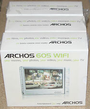 Archos 605 WiFi Silver (30 GB) Digital Media Player. NEW!!! SEALED!!!