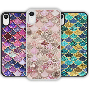 MERMAID SCALES Cute Pattern Phone Case Cover iPhone Samsung Galaxy Multicolour