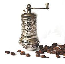 Turkish Handmade Grinder, Spice Grinder, Salt Grinder, Pepper Mill 4.2''(SILVER)