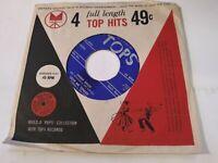 Various Artists VG+ Original Blue Label 45 RPM TOPS R294 Comp EP Record 1950s