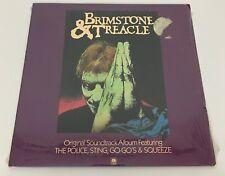 Brimstone & Treacle Soundtrack Record Album Police Sting Go-Go's Squeeze Sealed
