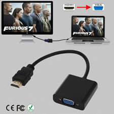 New listing Hdmi Male to Vga Female 1080P Chipset Adapter Video Cord Converter Cable For Pc