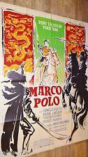 MARCO POLO !  rory calhoun affiche cinema 1961