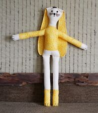 Handmade Rag Doll Soft Cloth, Collectable Fabric Toy