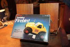 Vintage Radio Shack Tumbing Firebird Battery Operated Toy Car in Original Box