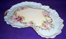 Vintage Porcelain Dresser Tray Large Kidney Shape Bavaria M.H.