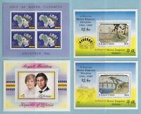 WORLDWIDE COLLECTION OF 11 SOUVENIR & MINI SHEETS - MINT NEVER HINGED OG ** X834