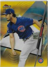 2020 Topps Finest YU DARVISH GOLD REFRACTOR PARALLEL #52 CUBS /50