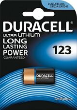 Pila Batteria Duracell 123 Cr123a Dl123 Cr17345 Litio 3 V Lithium Duralock linq