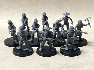Pirate zombies with assorted weapons for tabletop & roleplaying games