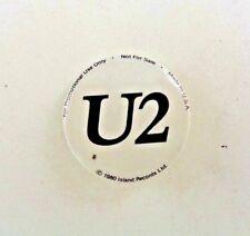 "U2 Boy, Very Rare Vintage 1"" Pin-Back Button, Island Promo (1980)"