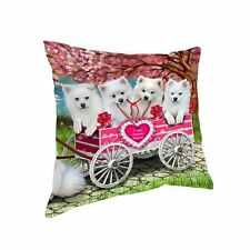 I Love Cart Dog Cat Pillow,Valentine Pet Photo Lovers Pillow Gifts, Throw Pillow