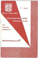 Northampton Town v Blackburn Rovers 1966/7