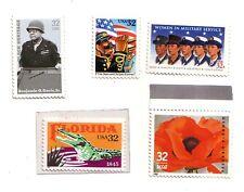 USA set 5 francobolli Nuovi Mint    Rif 24