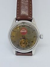 Vintage 1950s Coca Cola  watch with Swiss manual movement   extremely rare